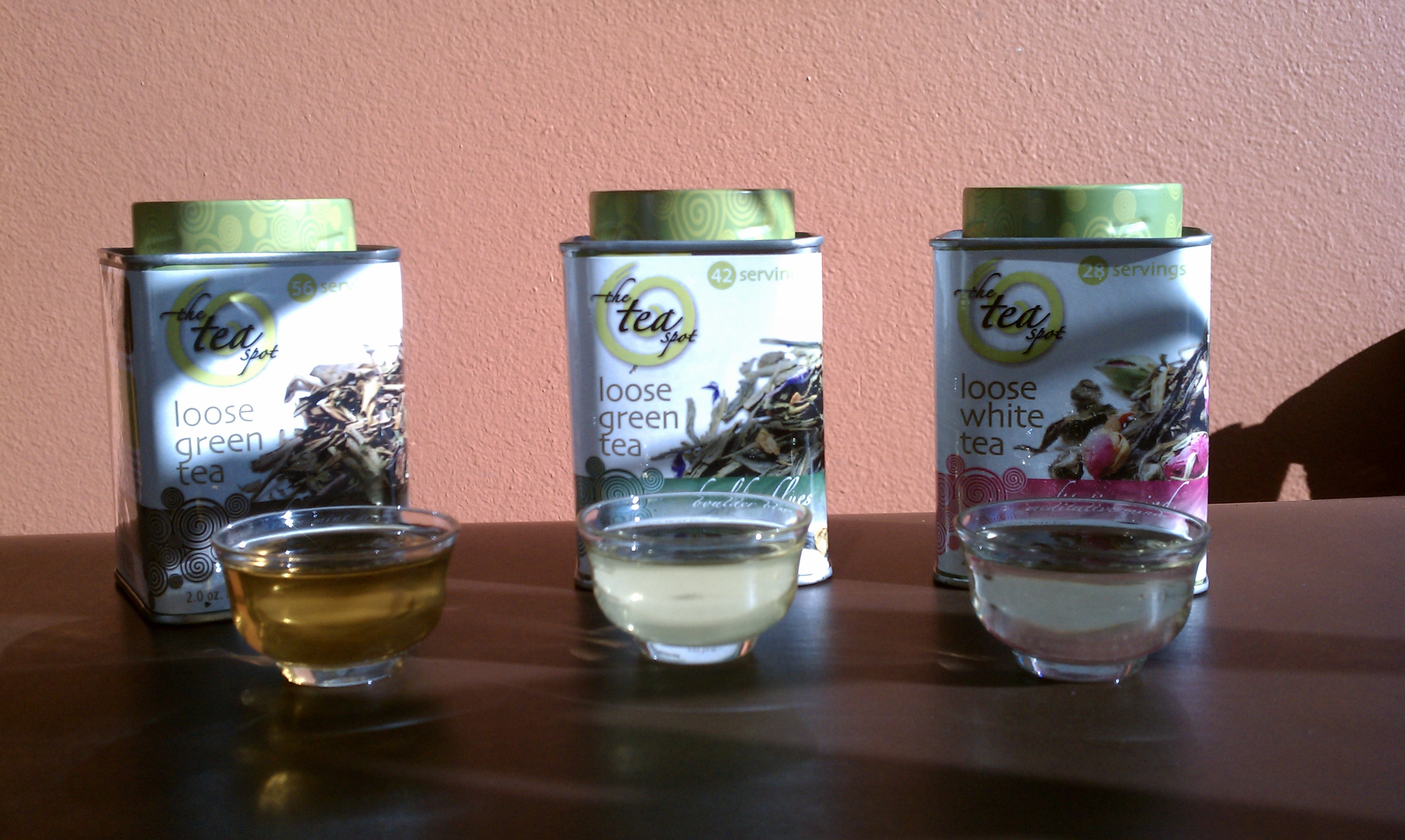 The Secret of the Skinny loose green tea collection