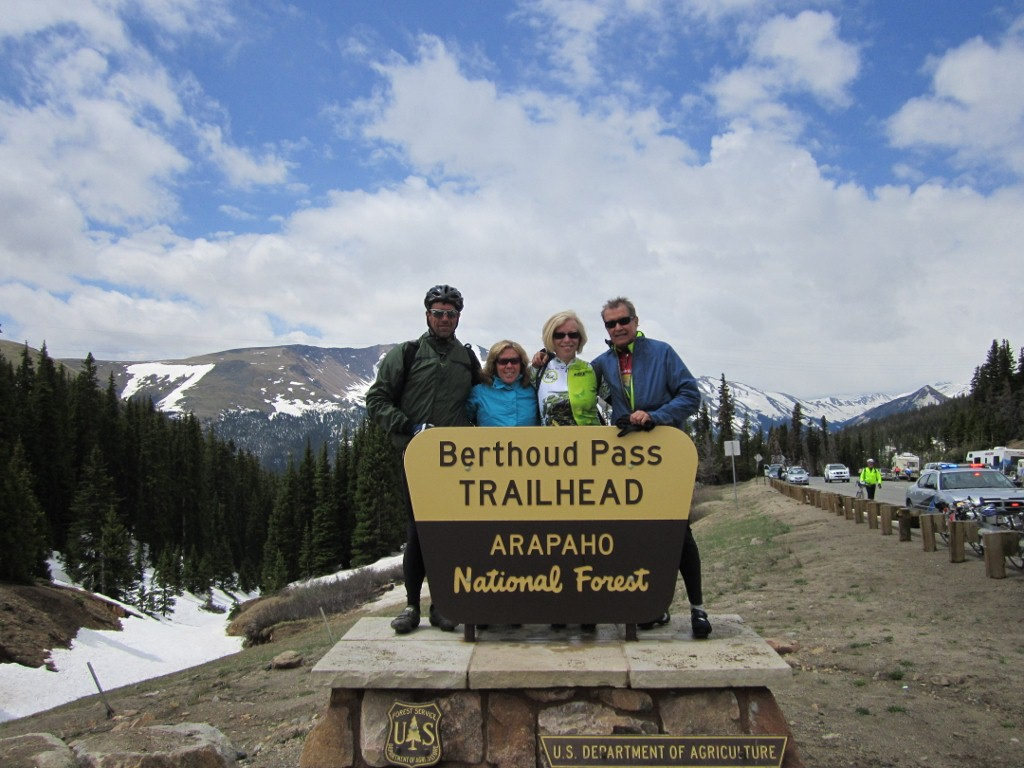 Our RTR team on Berthoud Pass