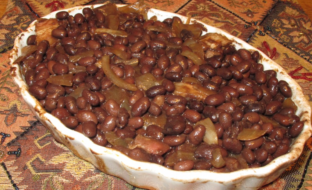 Lapsang Baked Beans