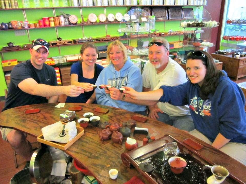 Our Tea Spot in Seattle