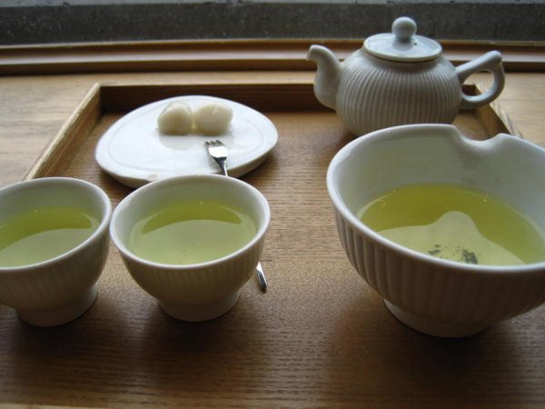 reroasted green tea