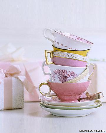 Martha Stewart Tea Cups