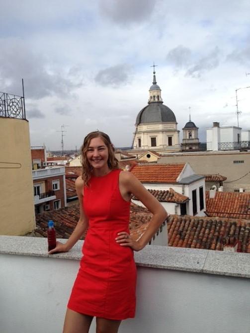 Elise hits Madrid