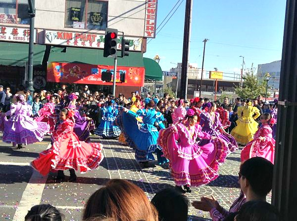 LA's Chinese New Year celebration has a multicultural flavor!