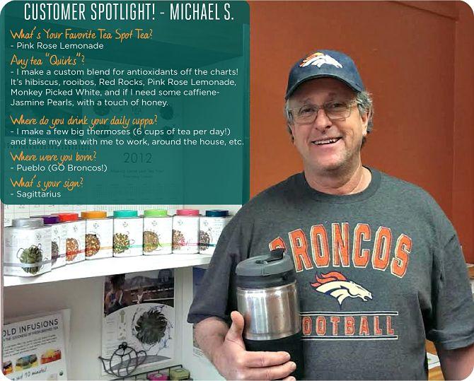 Michael S. Tea Spotter Spotlight - The Tea Spot Blog