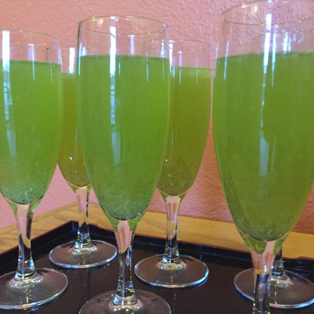 Ninja Juice Green Tea Cocktail