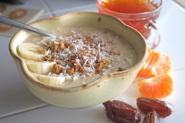 coconut crush chai overnight oatmeal
