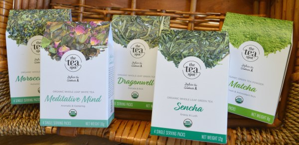 Our new Organic Green Tea Sampler
