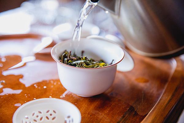 Brewing Tea Hot