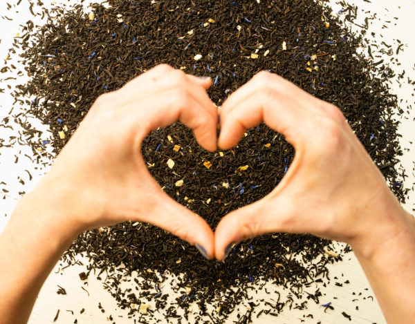 Black tea heart benefits